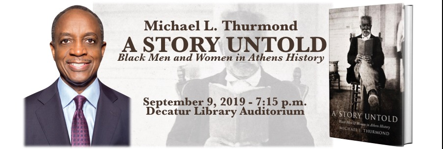Michael L. Thurmond presents