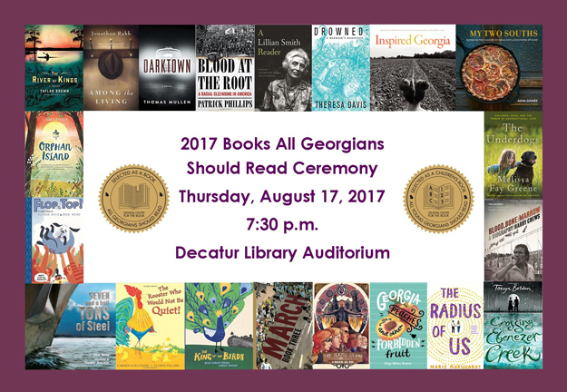 2017 Books All Georgians Should Read
